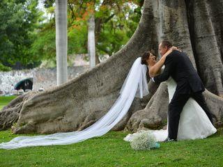 La boda de Carolina y Victor