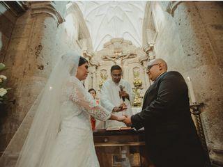 La boda de Lupita  y Álex