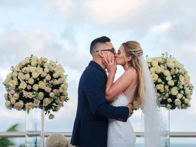 La boda de Chris y Karley en Cancún, Quintana Roo 26