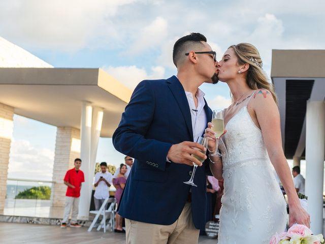 La boda de Chris y Karley en Cancún, Quintana Roo 28