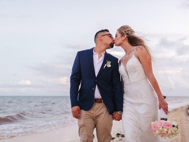 La boda de Chris y Karley en Cancún, Quintana Roo 34