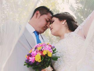 La boda de Dannya y Assael