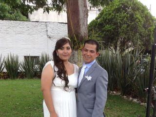 La boda de Elizabeth y Rubén
