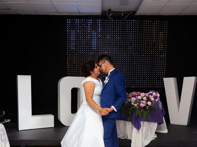 La boda de Arizbeth y Victor