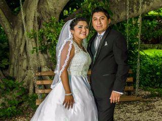 La boda de Abril y Pedro