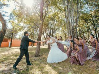 La boda de Maleni y Isaac