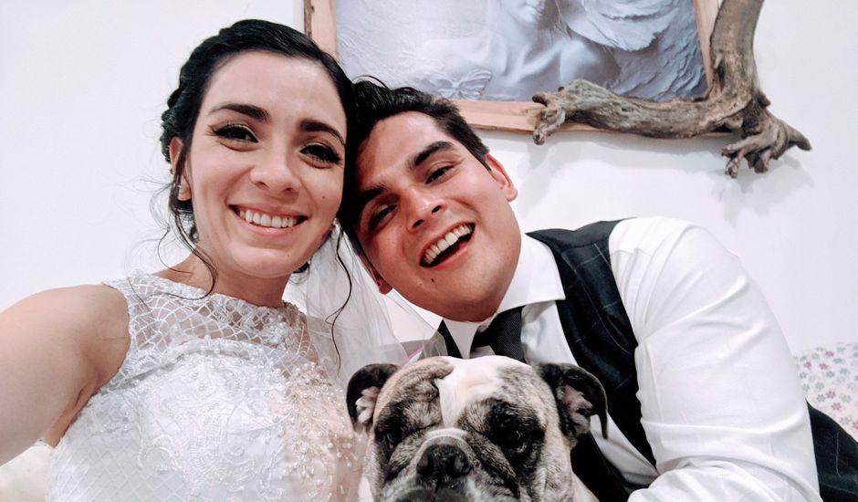 La boda de Ángel y Paula en Aguascalientes, Aguascalientes