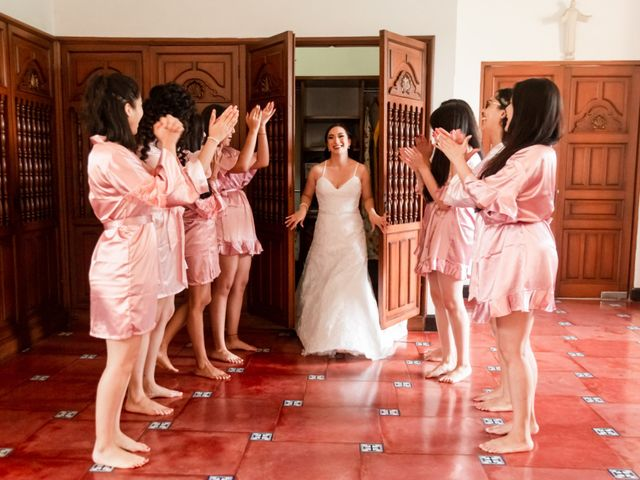 La boda de Aldo y Elena en Xochitepec, Morelos 13