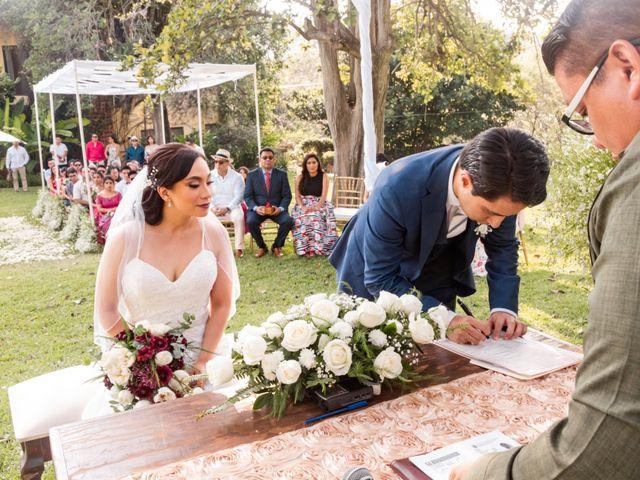 La boda de Aldo y Elena en Xochitepec, Morelos 97