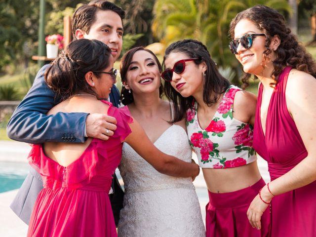 La boda de Aldo y Elena en Xochitepec, Morelos 127