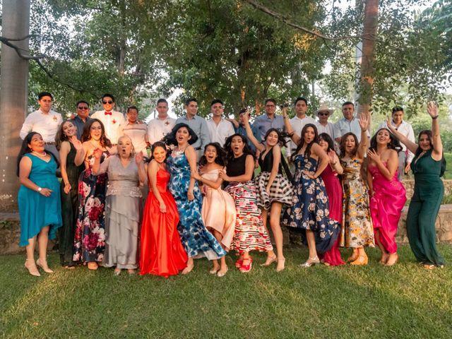 La boda de Aldo y Elena en Xochitepec, Morelos 143