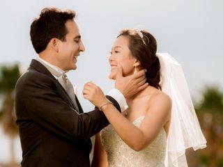La boda de Eunjung y Luis