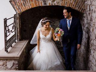La boda de María José Leal y Diego Hernández 1