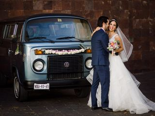 La boda de María José Leal y Diego Hernández