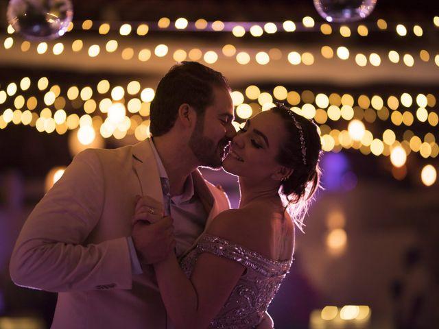La boda de Majo y René