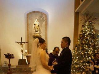 La boda de Blanca Nohemi y Cristhian Emanuelle 3