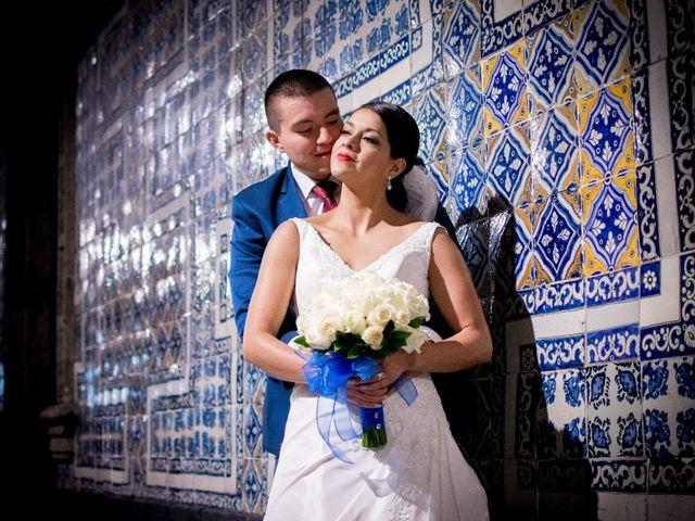 La boda de Carolina y Asael