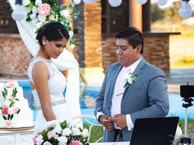 La boda de David y Nery