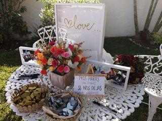 La boda de Mirna Dolores y Salvador Antonio  3