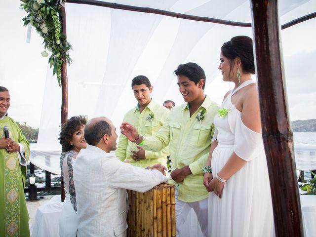 La boda de Marcos y Irma en Ixtapa Zihuatanejo, Guerrero 17