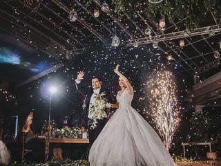 La boda de Nalle y Víctor