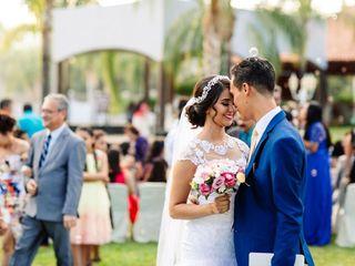 La boda de Leslie y Zabdi 1