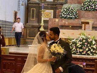 La boda de Casandra  y Alonso  1