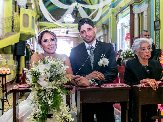 La boda de Violeta y Leonel
