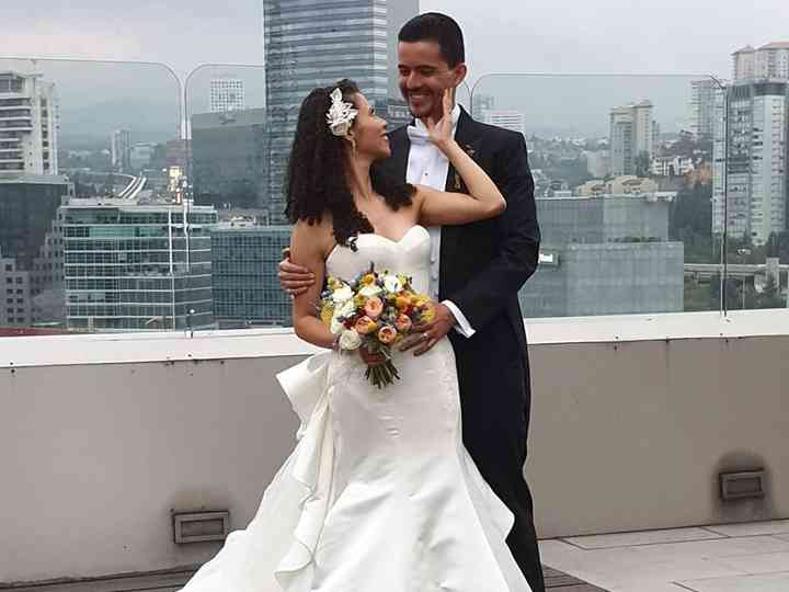 La boda de Nazul y Horacio