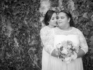 La boda de Guadalupe y Ana