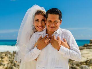 La boda de Hugo  y Mary J