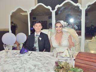La boda de Lilian y Akira