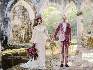 La boda de Ariana y Eliot