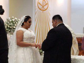 La boda de Xóchitl y David