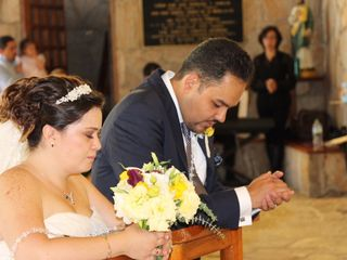 La boda de Evelyn y Roberto