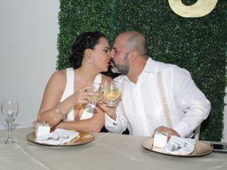 La boda de Ziomara y Julio 1