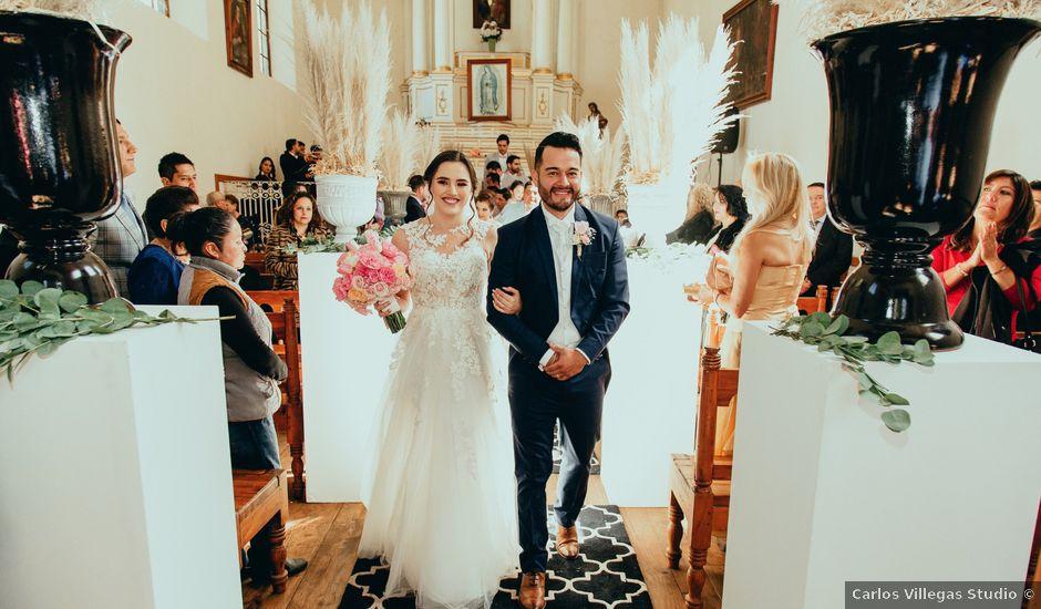La boda de Carlos y Renata en Huasca de Ocampo, Hidalgo