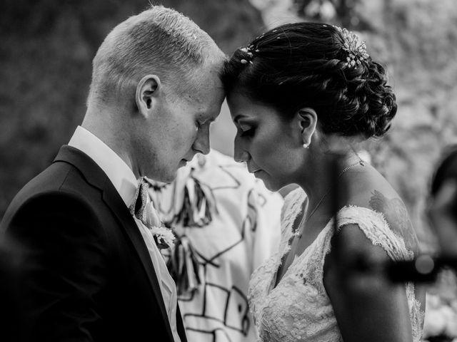 La boda de Karina y Pascal