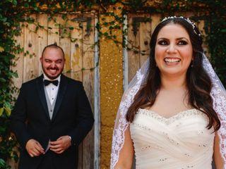 La boda de Estefanía y Martín