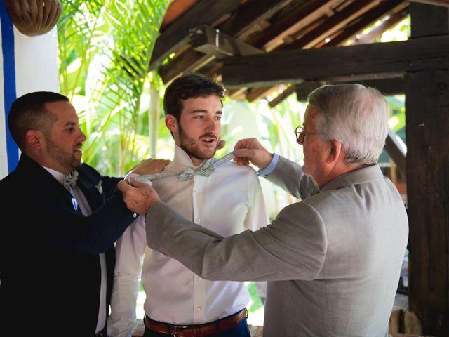 La boda de Victor y Estefania en Mazatepec, Morelos 8