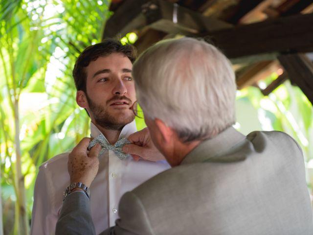 La boda de Victor y Estefania en Mazatepec, Morelos 9