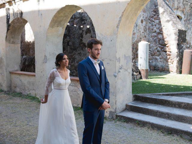 La boda de Victor y Estefania en Mazatepec, Morelos 27
