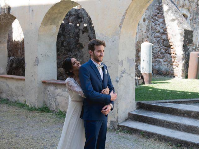 La boda de Victor y Estefania en Mazatepec, Morelos 28