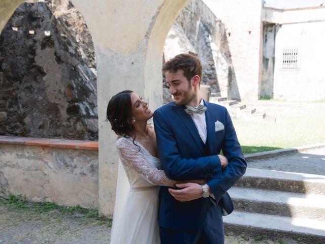 La boda de Victor y Estefania en Mazatepec, Morelos 29