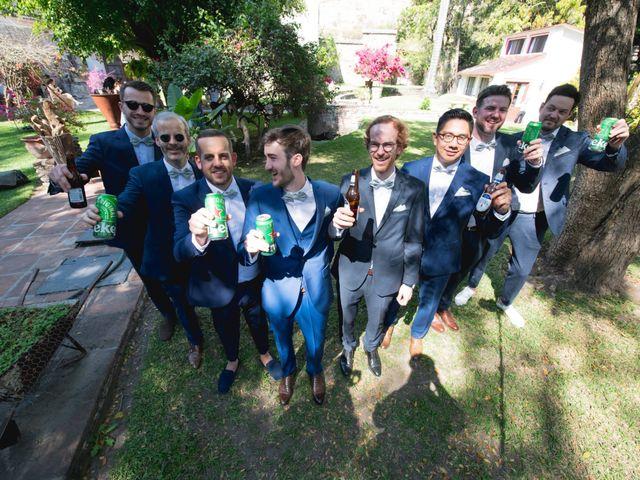 La boda de Victor y Estefania en Mazatepec, Morelos 41