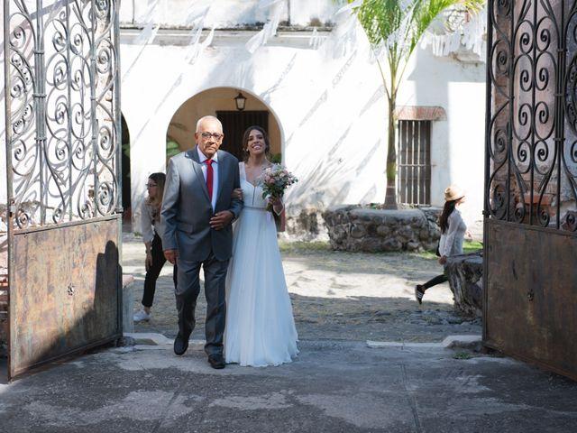 La boda de Victor y Estefania en Mazatepec, Morelos 47