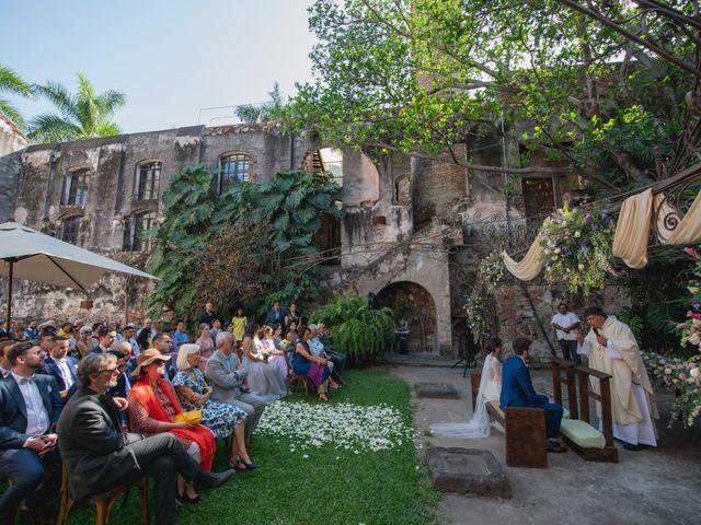 La boda de Victor y Estefania en Mazatepec, Morelos 56
