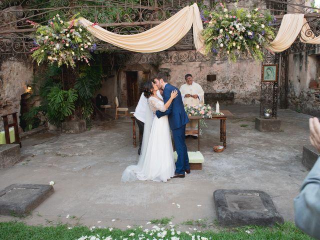 La boda de Victor y Estefania en Mazatepec, Morelos 67