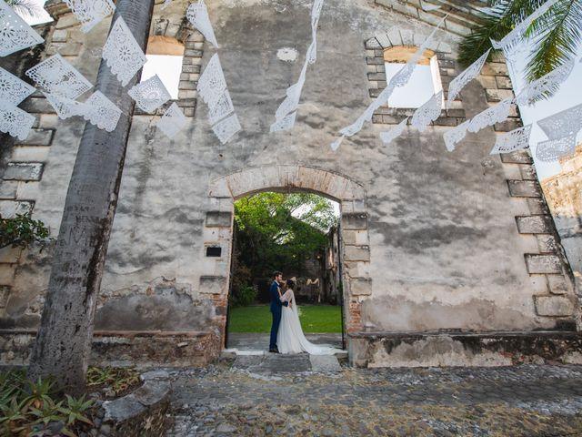 La boda de Victor y Estefania en Mazatepec, Morelos 82
