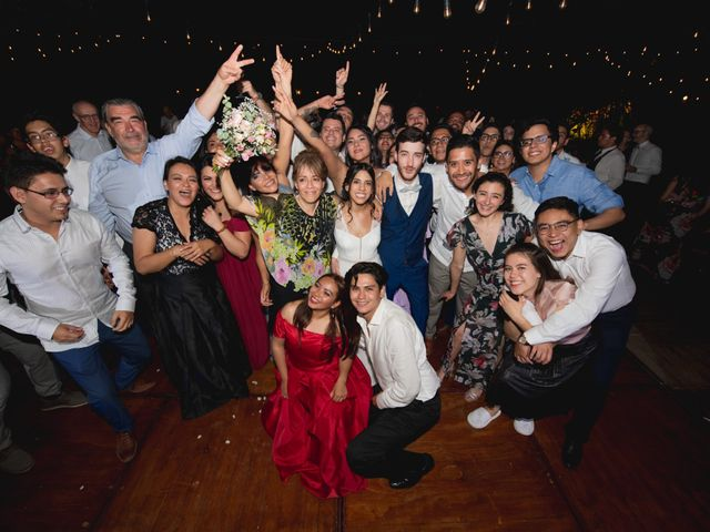 La boda de Victor y Estefania en Mazatepec, Morelos 103